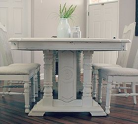 Grandma S Table Gets A Makeover, Chalk Paint, Dining Room Ideas, Painted  Furniture