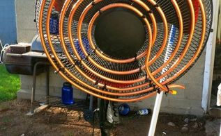 diy air conditioning fan, diy, hvac, repurposing upcycling