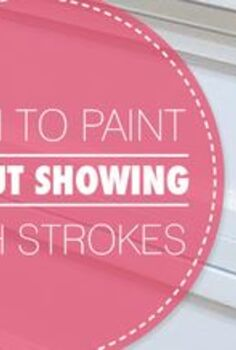 how to paint furniture without showing brush strokes, painted furniture