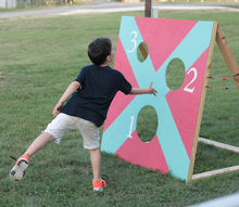 easy to build outdoor game for all ages, diy, outdoor living, woodworking projects