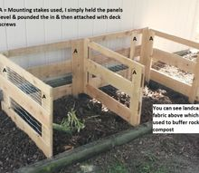 compost bin diy build, composting, diy, go green, woodworking projects