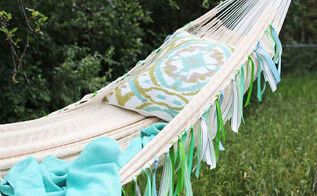 hammock styling diy quick easy, outdoor furniture, outdoor living