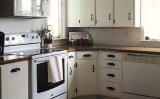 painted farmhouse kitchen, diy, kitchen cabinets, kitchen design, painting