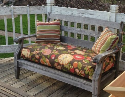 Almost No Sew Box Cushions Easy Peasy Outdoor Furniture Living Reupholster