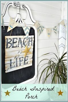 porch decor beach inspired