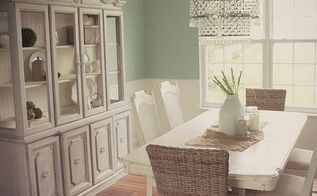 dining room makeover brightening, chalk paint, dining room ideas, home decor, paint colors, painted furniture