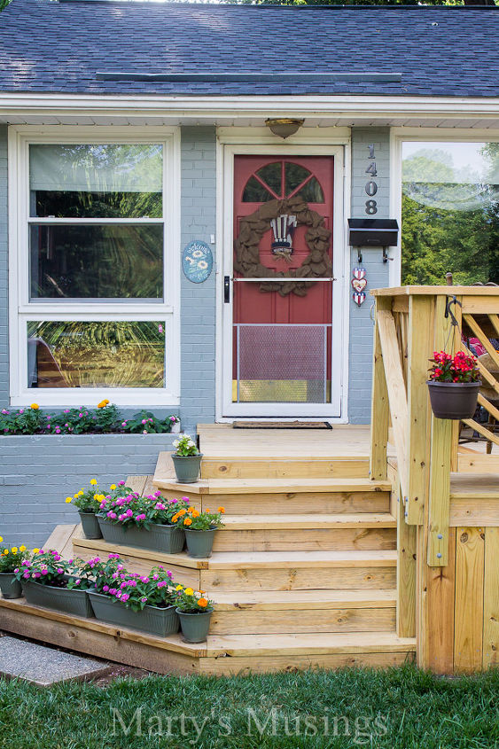 DIY Outdoor Living: How Our 1950's Dated Ranch Home Got a ...