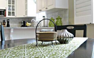 table runner no sew easy diy, crafts, kitchen design