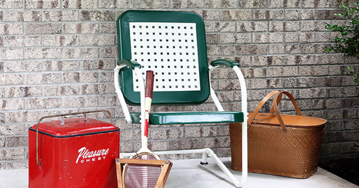 Painting A Vintage Motel Chair Hometalk