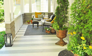 porch stripes painting diy, diy, flooring, painting, porches