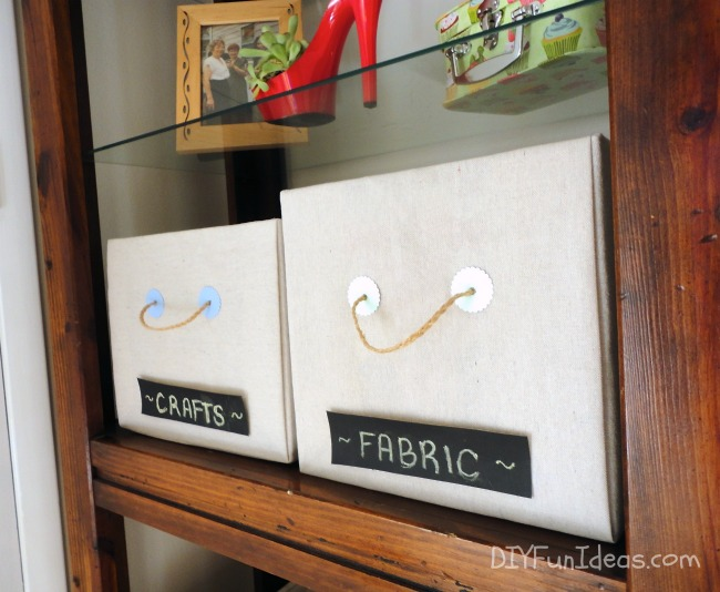 Storage Boxes Diy Cloth Organize Home Decor Organizing Repurposing Upcycling Shelving Ideas