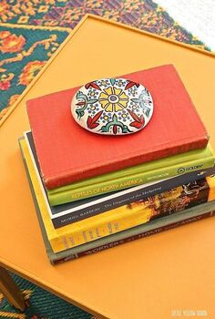 stones painted moroccan craft, crafts, by Little Yellow Couch