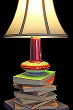 lamp book repurposed childrens, lighting, repurposing upcycling