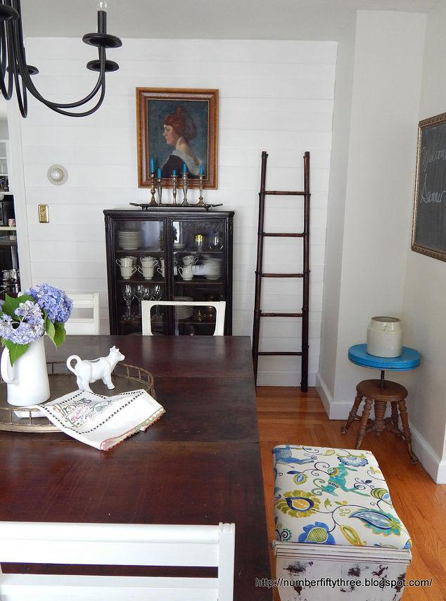 Summer Dining Room Tour & Boho Doily Bunting   Hometalk