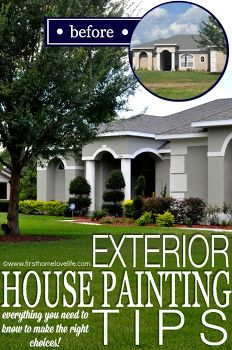 Home exterior upgrades idea box by albion hometalk for Exterior mural painting techniques