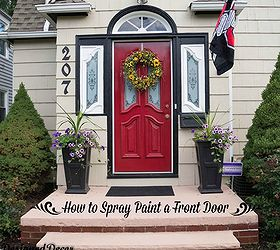 wonderful spray paint front door design inspirations