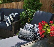 backyard patio redo, gardening, lighting, outdoor living, patio