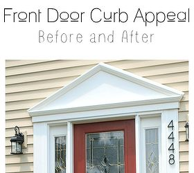 front door curb appeal budget doors & 6 Budget Friendly Ways to Improve Your Front Door\u0027s Curb Appeal ... Pezcame.Com