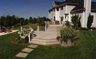landscape upgrade backyard project architecture, decks, outdoor living, patio, pool designs, spas, Multi level Decking