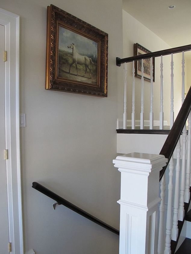 Small Foyer With Stairs : A small entrance can still look grand hometalk