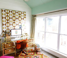 office studio home makeover reveal, home office, shelving ideas