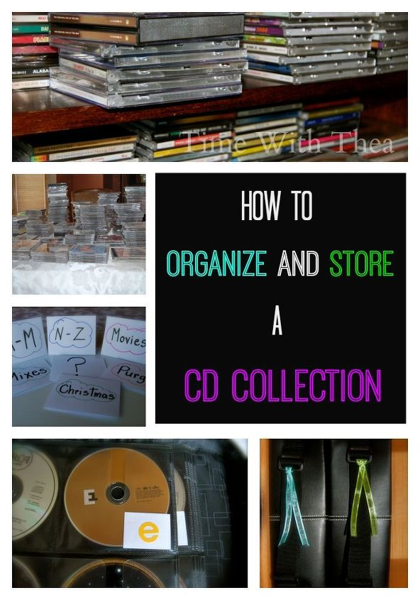 Cd Collection Storage Solution Hometalk