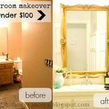 bathroom makeover affordable, bathroom ideas, small bathroom ideas