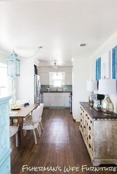 kitchen makeover coastal diy, diy, home decor, kitchen backsplash, kitchen cabinets, kitchen design, painting