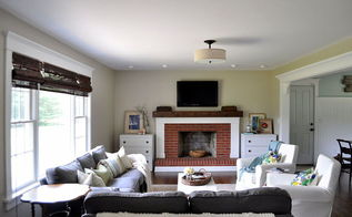 living room makeover home renovation, home decor, living room ideas