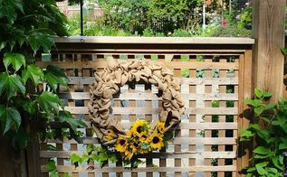wreath burlap summer diy sunflowers, crafts, wreaths