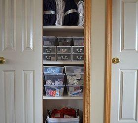 Linen Closet Organize Tips, Closet, Organizing