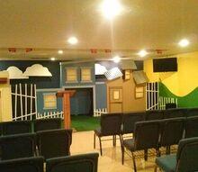 church renovation childrens surprise, home improvement, After