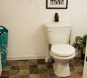 Charming Light Grey Tile Bathroom Floor Huge Good Paint For Bathroom Ceiling Shaped All Glass Bathroom Mirrors Bathroom Vanities Toronto Canada Old 48 White Bathroom Vanity Cabinet BlueBathroom Lighting Sconces Brushed Nickel Quick And Easy Bathroom Makeover | Hometalk