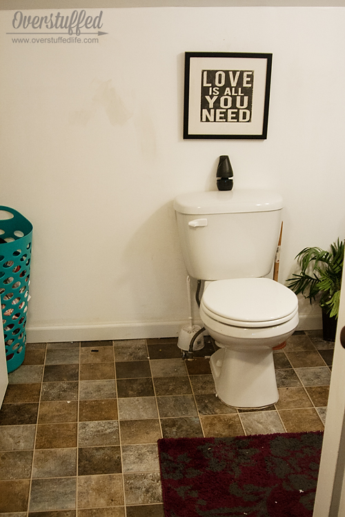 bathroom design easy quick  bathroom ideas  flooring  home improvement   painting  wall. Quick and Easy Bathroom Makeover   Hometalk