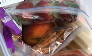 organization tips fridge snacks kids, appliances