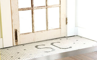 custom floor mosaic, diy, flooring, tile flooring, tiling