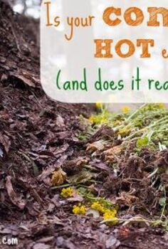 composting temperature heat facts, composting, gardening, go green