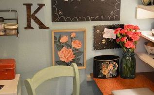 craft room makeover, craft rooms, shelving ideas, storage ideas