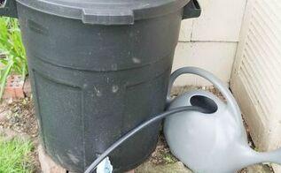 diy rain barrel tutorial, diy, gardening, go green, how to