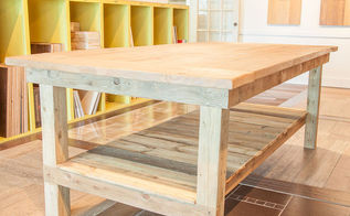 woodworking farmhouse table build, diy, painted furniture, rustic furniture, woodworking projects
