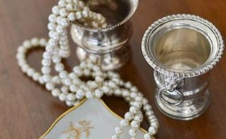 cleaning tarnished silver how to, cleaning tips, how to