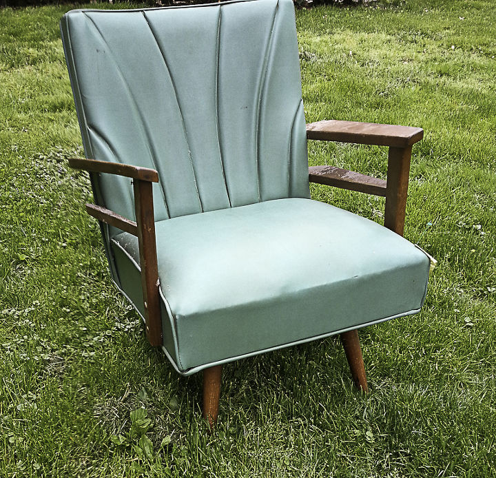 painting media furniture spray painting a vinyl chair hometalk