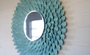 home decor for less making spoon mirrors, crafts, home decor, repurposing upcycling