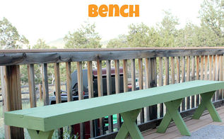 diy 20 outdoor bench, decks, diy, outdoor furniture, patio, woodworking projects