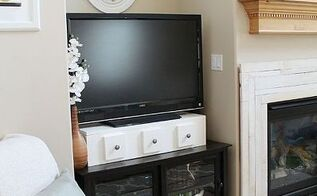 tv storage stand, diy, home decor, how to, living room ideas, painted furniture, woodworking projects