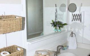 bathroom designs master budget fresh makeover, bathroom ideas, home decor, small bathroom ideas, storage ideas