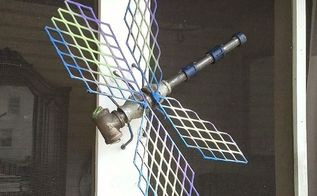 steampunk dragonfly industrial art by randy and me, crafts, gardening, repurposing upcycling