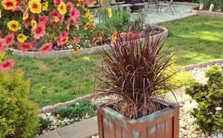 gardening faux copper patina planters, container gardening, crafts, gardening