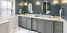 greenfield master bathroom remodel, bathroom ideas, countertops, flooring