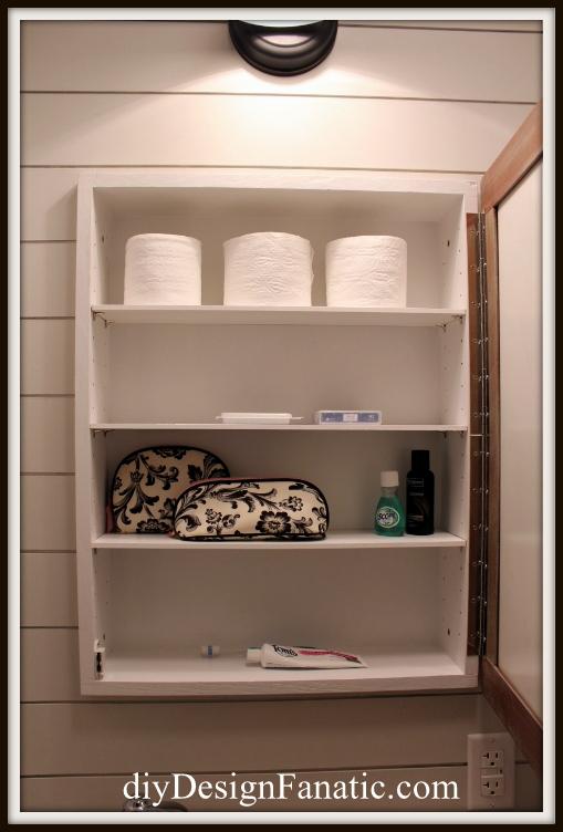 Diy Pottery Barn Inspired Medicine Cabinet Bathroom Ideas Diy Small Bathroom Ideas